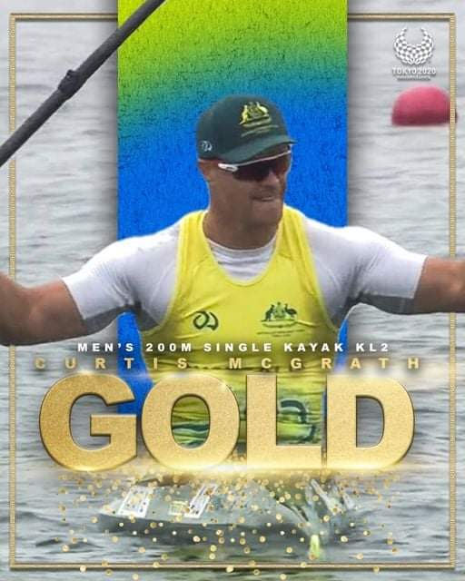 test Twitter Media - @CurtMcGrath defends his crown, winning gold again at the #Toyko2020Paralympics! What an exceptional performance! Congratulations to Curtis on behalf of all @RSL_SA members. https://t.co/AnlDCruZAE