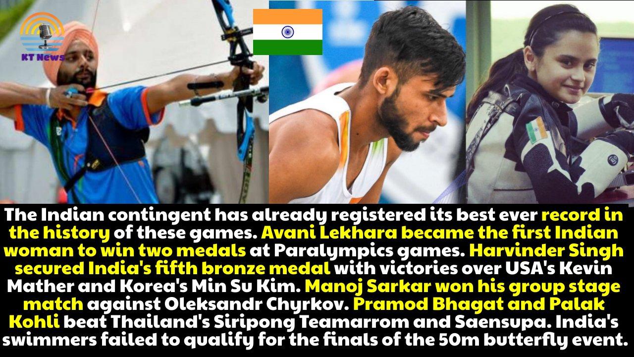 Paralympics 2020 Day 10 Highlights: Praveen Kumar wins Silver; Avani Lekhara wins Bronze; Harvinder wins Bronze