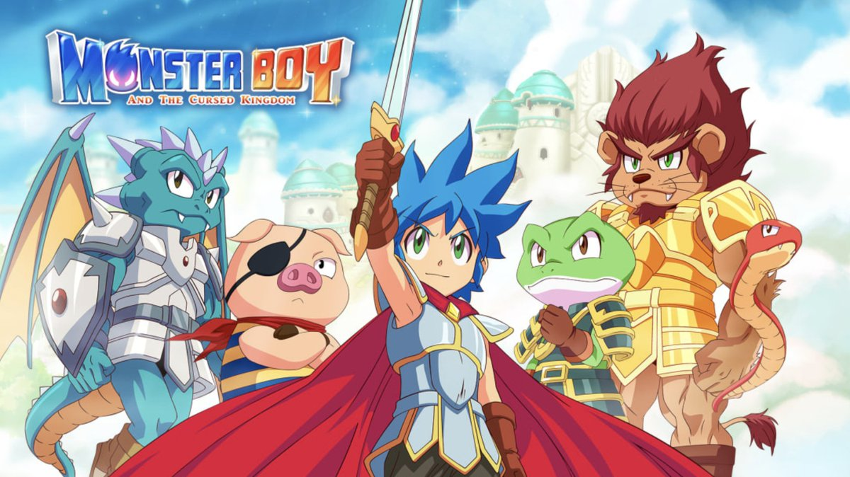 Monster Boy and the Cursed Kingdom is on sale for $15.99 in the Switch eShop.