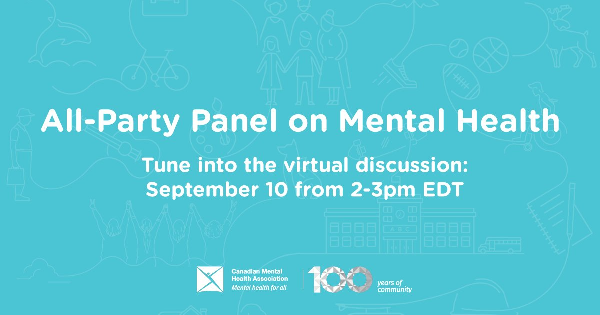 🔔#TuesdayVibes: Don't miss out on this discussion about #mentalhealth and #accessibility in the upcoming election #cdnpoli ⬇️  #youthmentalhealth