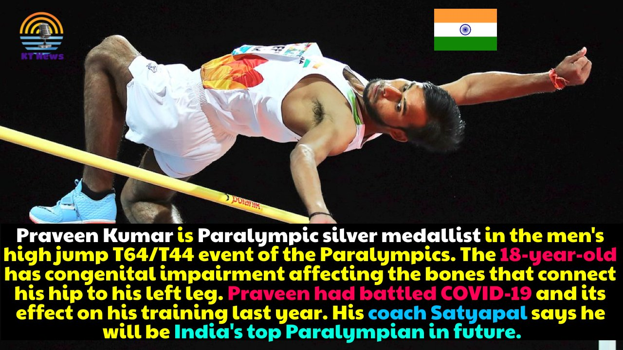 Taking silver in high jump at Tokyo Paralympics, Praveen Kumar beats COVID in more than one way