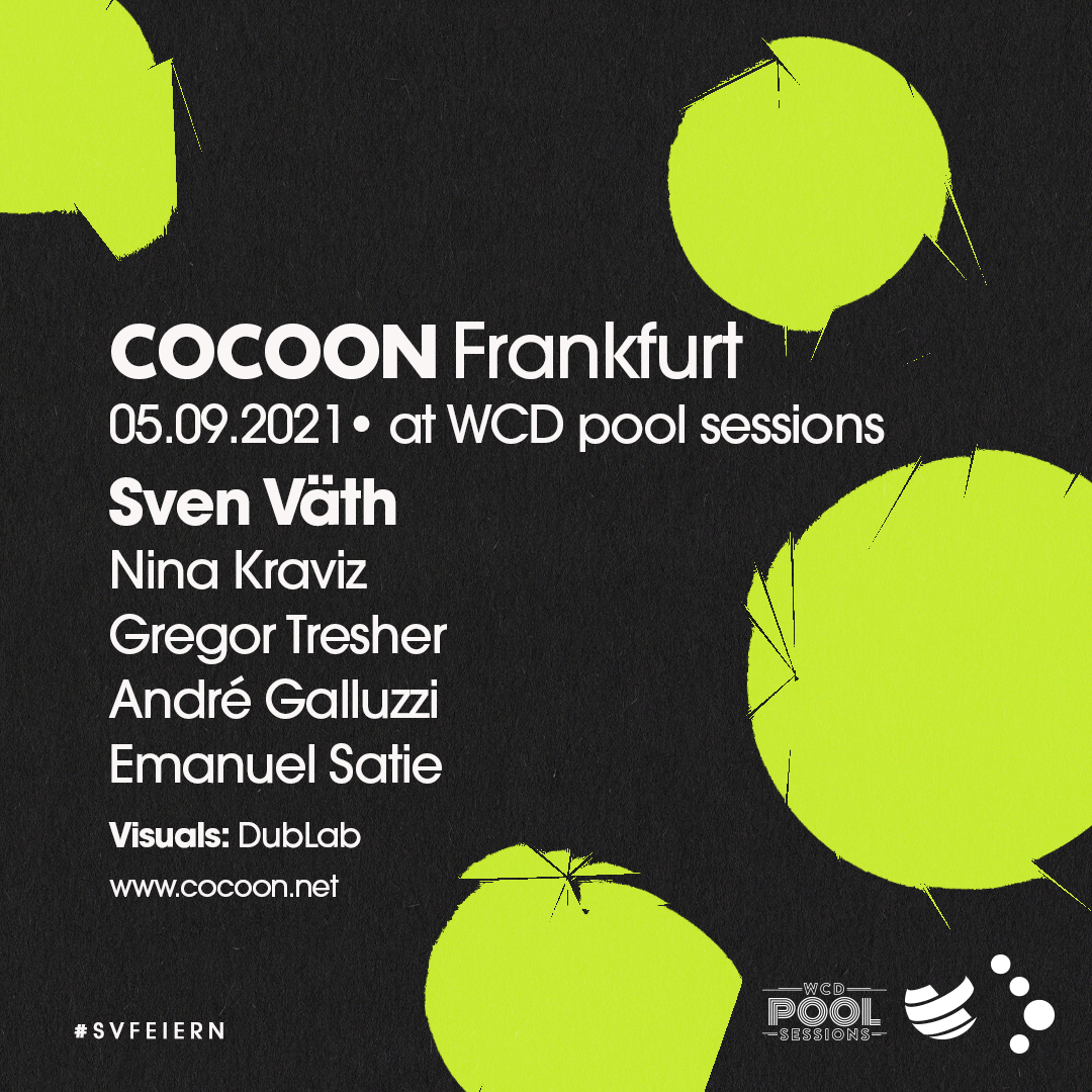 INCOMING EVENT - 05.09 The time has come! We cannot wait to return and dance with you all again at Cocoon Frankfurt at WCD Pool Sessions ❤ #cocoon #svfeiern Tickets: shop.ticketpay.de/TDJE8PFK?_gl=1…