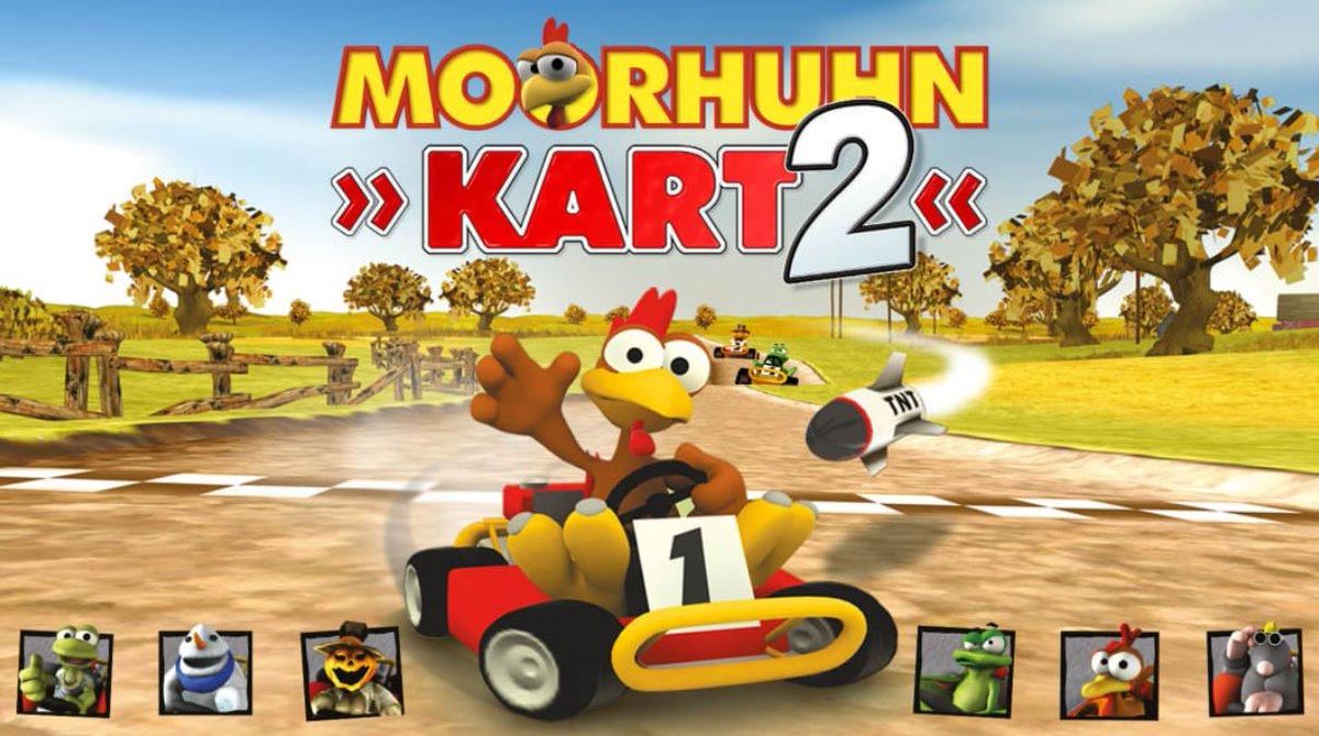 Moorhuhn Kart 2 (S) $15.99 via eShop.
