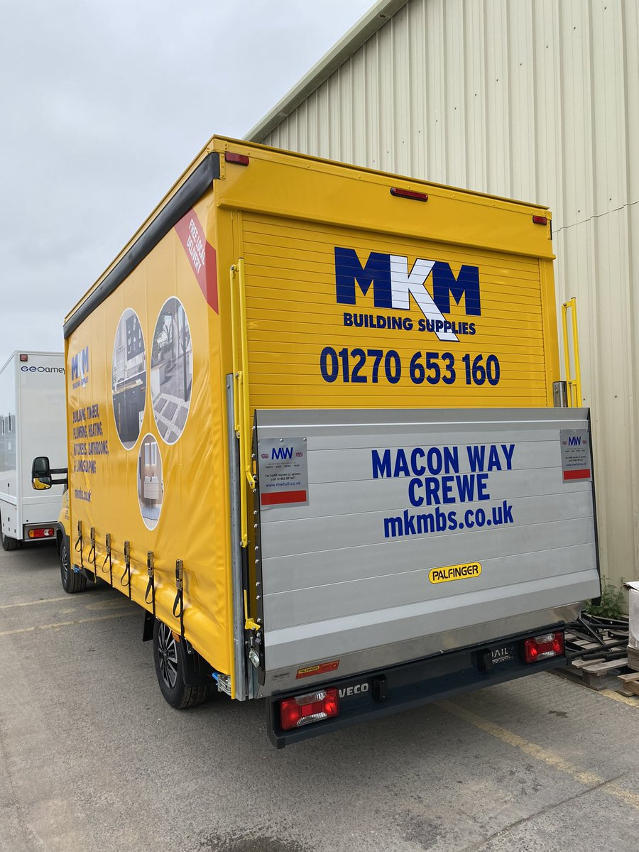 test Twitter Media - A bright new build to end the week and another one in the fleet for @mkmbs - a curtain-sider supplied by @NETVLtd. Build, including Palfinger tail lift, & paint completed in-house. Livery supplied by our sister company MW Graphics Ltd. #MKM #NETV #Palfinger #MWGraphics #MWHull https://t.co/ZAaUOaEZjC