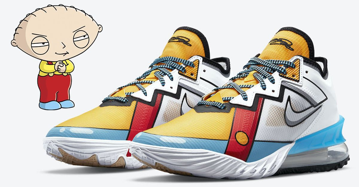 LIVE in 20mins Nike LeBron 18 Low 'Cartoon Art'   FTL: Nike:
