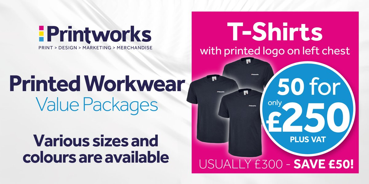📣 NEW WORKWEAR PACKAGES 📣 💥Printed or Embroidered Branded Workwear 💥Premium Quality Garments 💥Various Sizes & Colours Get in touch to get yours ☎️ 0151 227 4589 📧 info@printworksliverpool.com 🏪 4 Victoria Street, Liverpool L2 6QJ #printworksliverpool #workwear