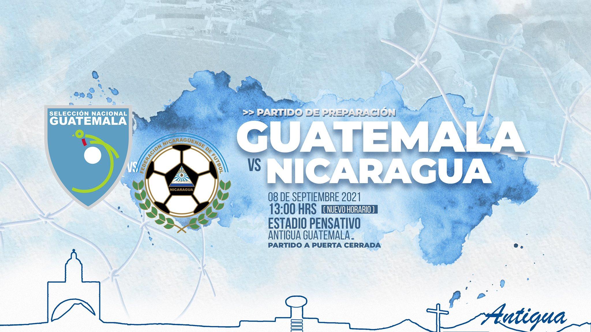 Guatemala vs Nicaragua