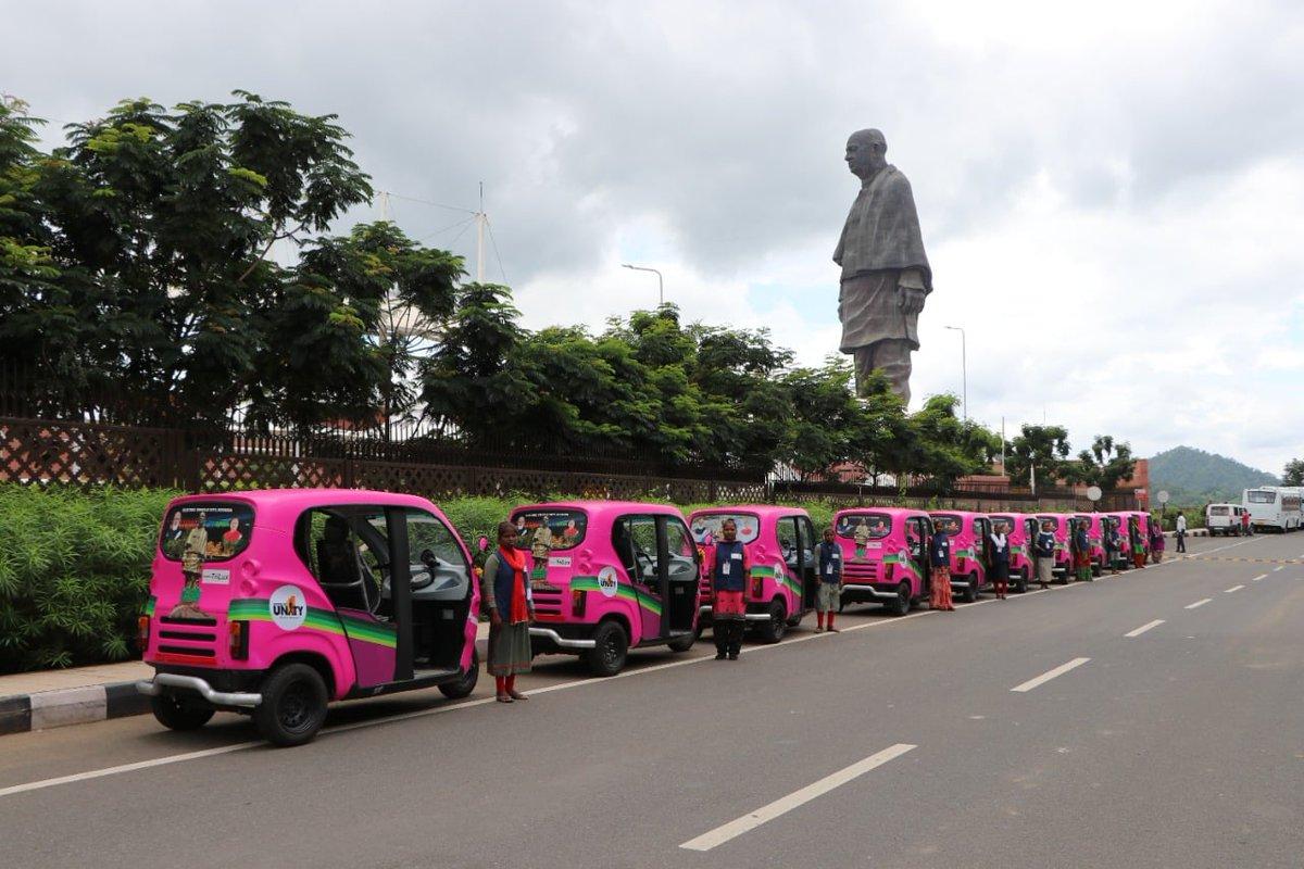 Kevadiya gets a fleet of e-rickshaws operated by local women, other photos