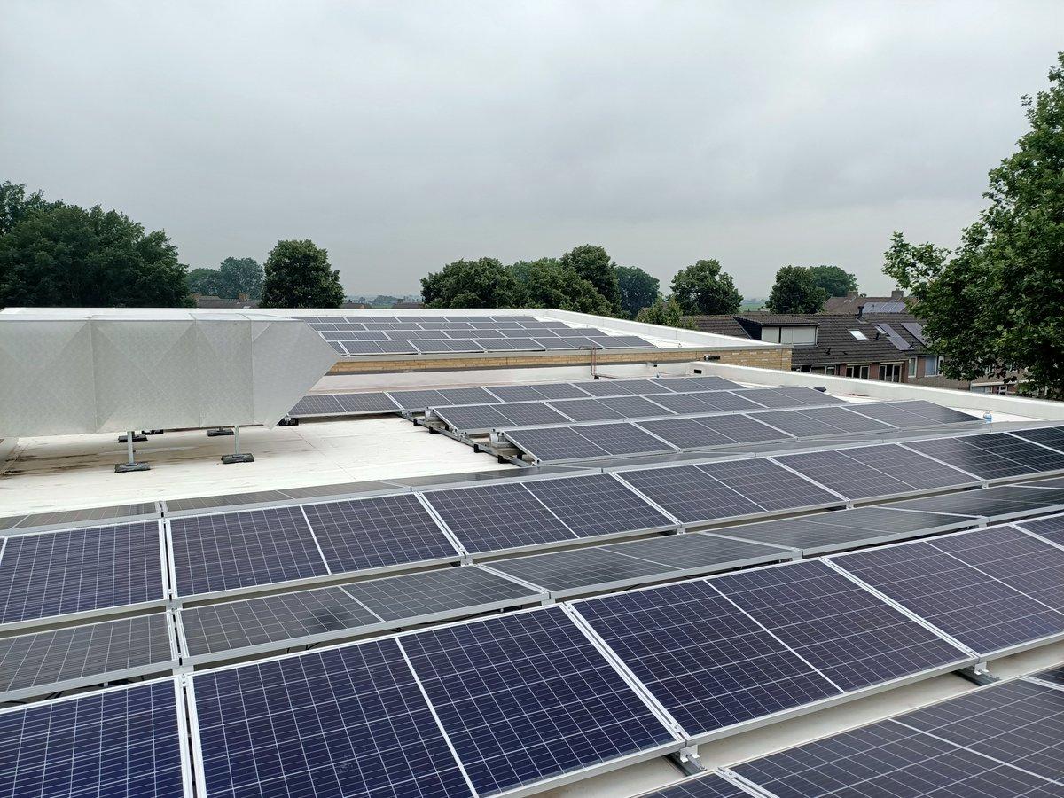 Image for the Tweet beginning: #ventilatie #zonneënergie #warmtepomp: onze nieuwe