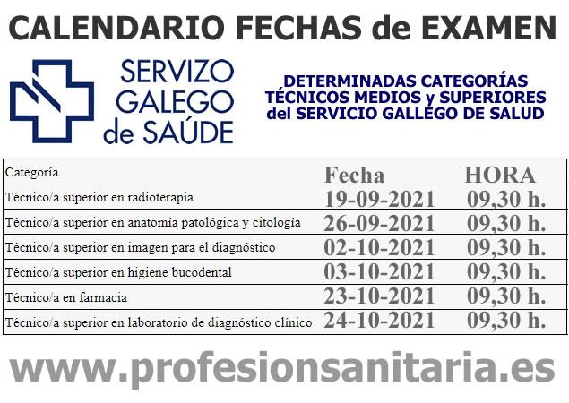 Publicadas fechas de exámenes de determinadas categorías de Técnicos Medios y Superiores del SERGAS - Servicio Gallego de Salud... E-YQ15OWQAEZcjg?format=jpg&name=small