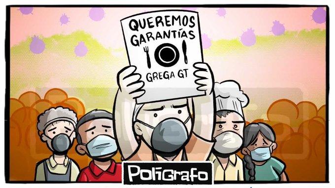 La Gremial de Restaurantes De Guatemala Apoya, solicitó al Gobierno implementar medidas para poder enfrentar la crisis por el toque de queda.