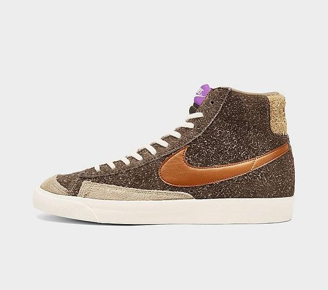 Now Available Nike Blazer Mid '77 Shaggy Suede  FNL: JD: