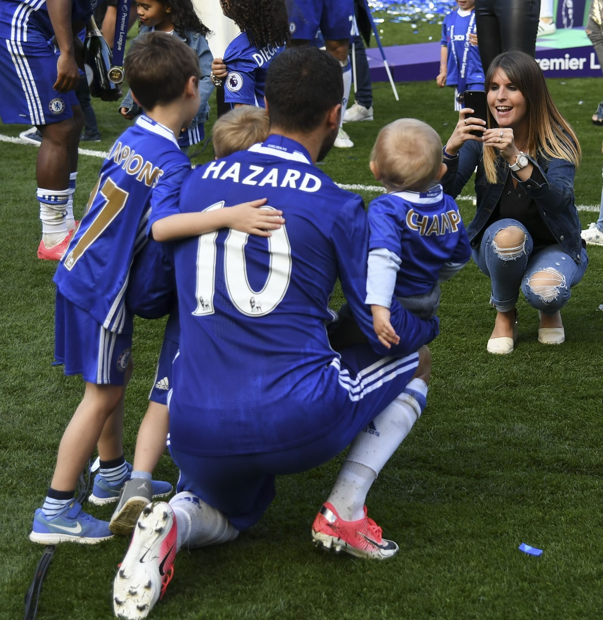 """Madrid Xtra. ar Twitter """"Congratulations to Eden Hazard and his ..."""