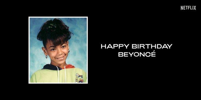 Happy Birthday Beyoncé
