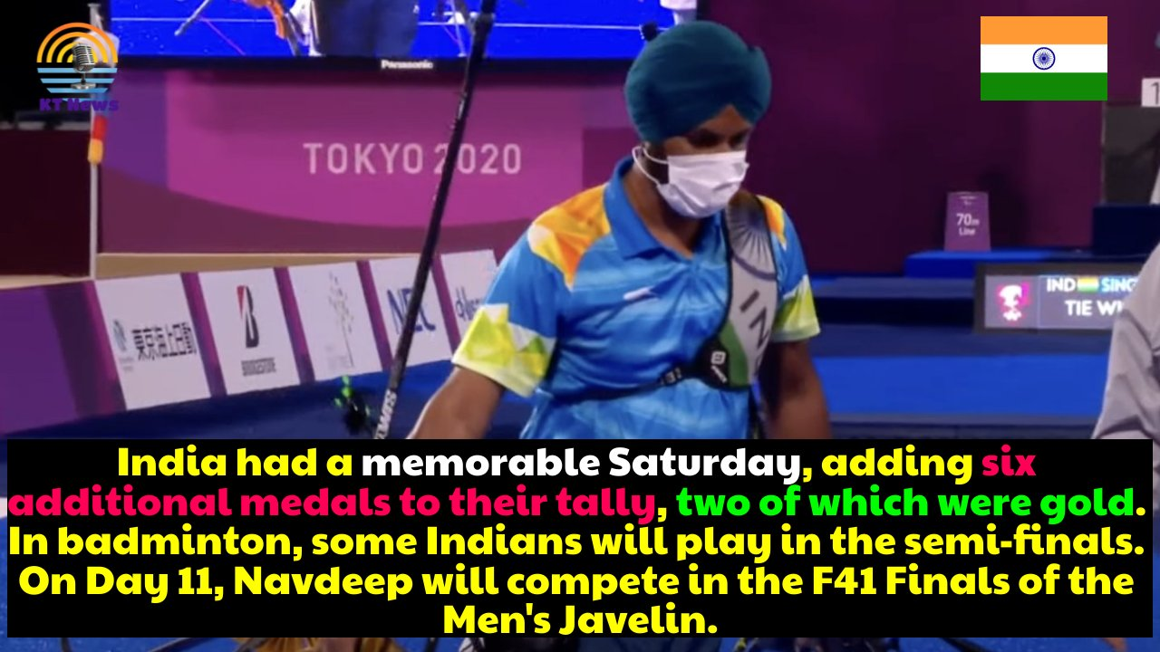 Memorable Saturday, India's medal tally on day 11 of the Tokyo Paralympics 2021 jumps to 17