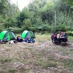 #GoldDofEExpedition in #AshdownForest with #Year12s @SurbitonHigh #HappyCampers #Trekking #AdventureLearning