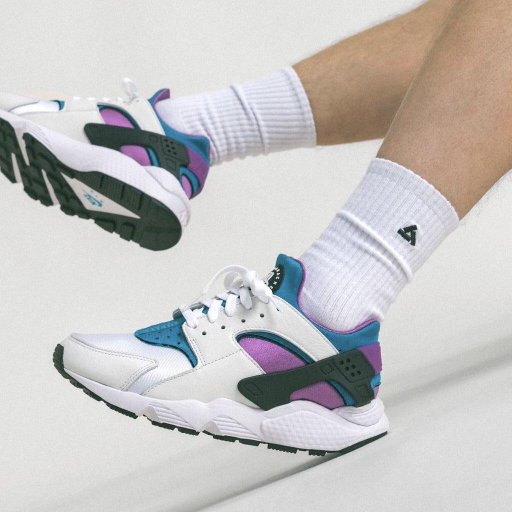 Dropped via Footlocker Nike Air Huarache 'Aquatone' =