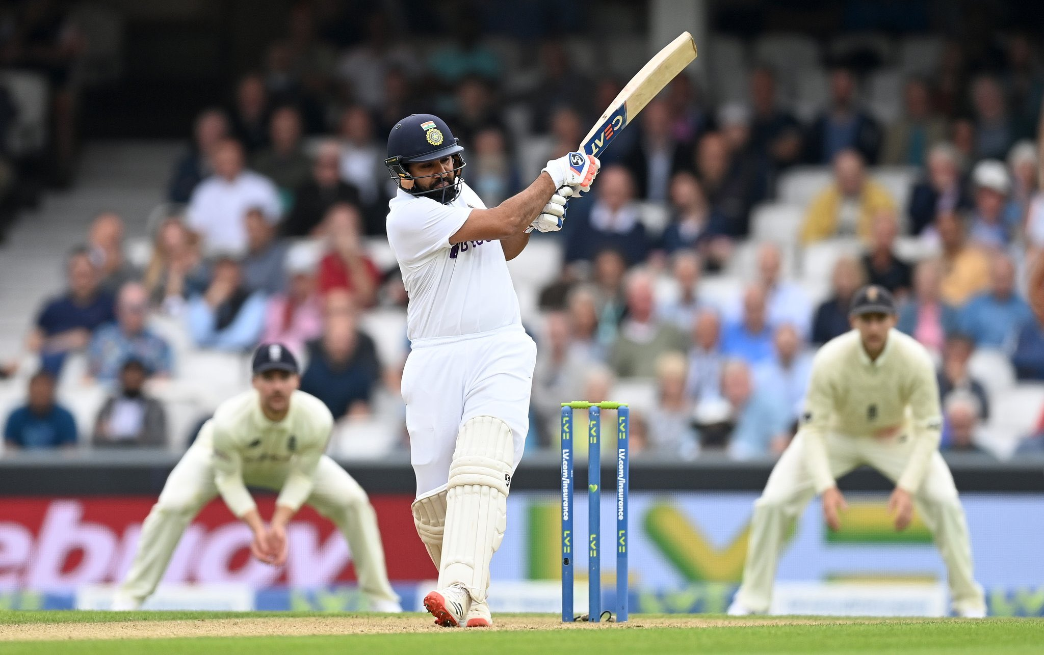 IND vs ENG Oval Test: Rohit Sharma en route first overseas Test century