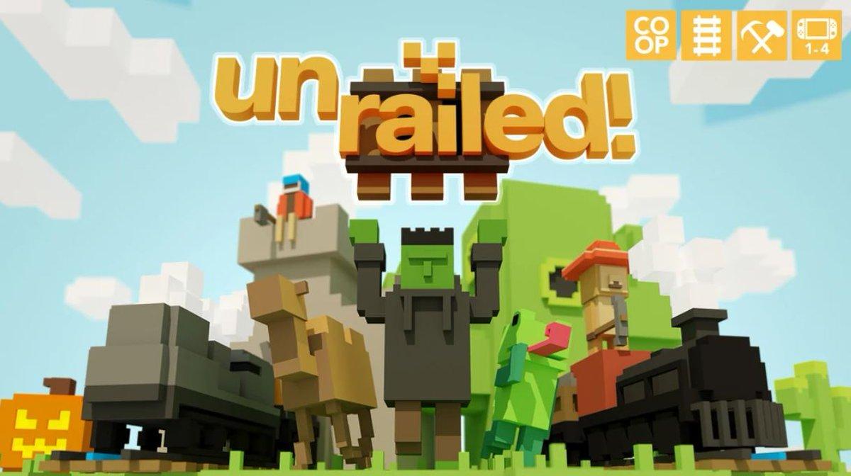 Unrailed (S) $4.99 via eShop.