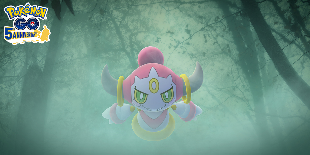 The next part of the Season of Mischief Special Research story will be available on September 5! Don't miss your chance to encounter Hoopa! Plus, Psychic-, Ghost-, and Dark-type Pokémon will be appearing in the wild and attracted to Incense! Learn more: pokemongolive.com/post/season-of…