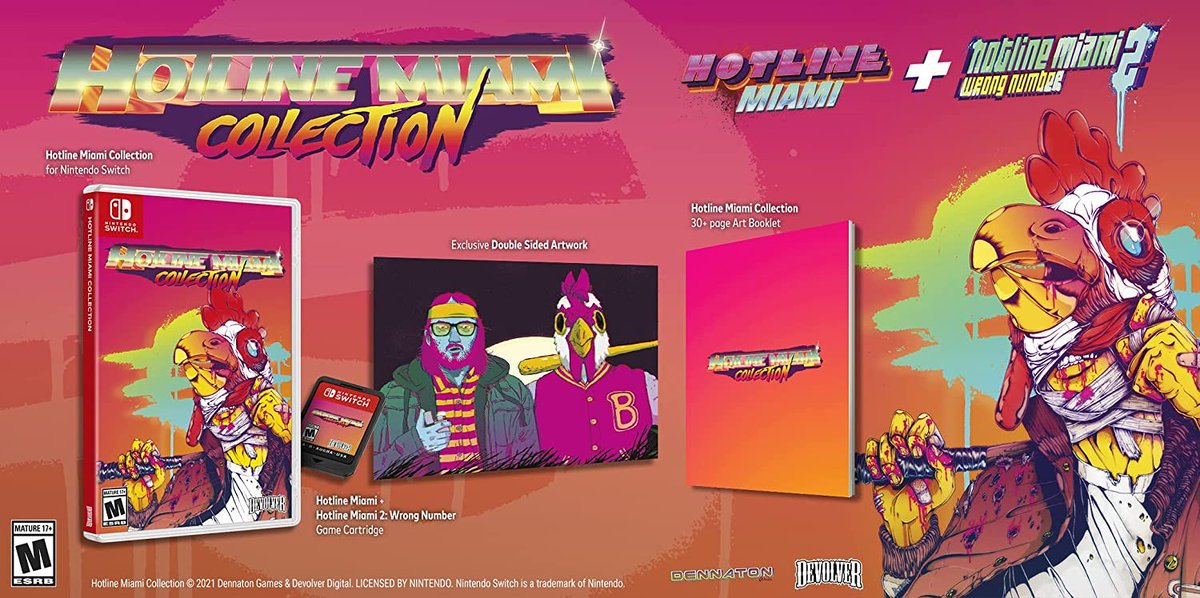 Hotline Miami Collection (Switch) is $5 off on Amazon:   $24.98