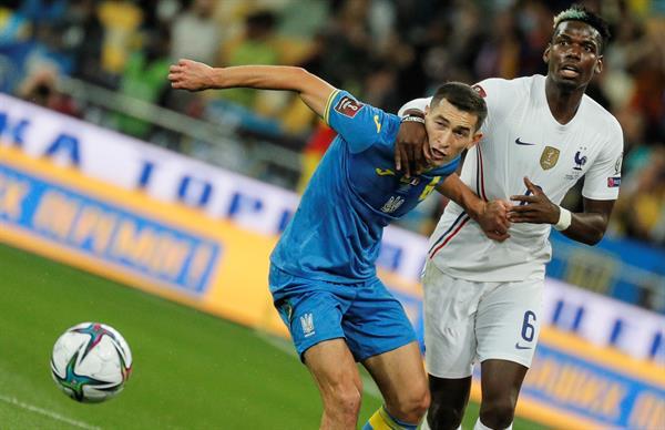 Ucrania vs Francia 1-1 Eliminatorias UEFA 2022