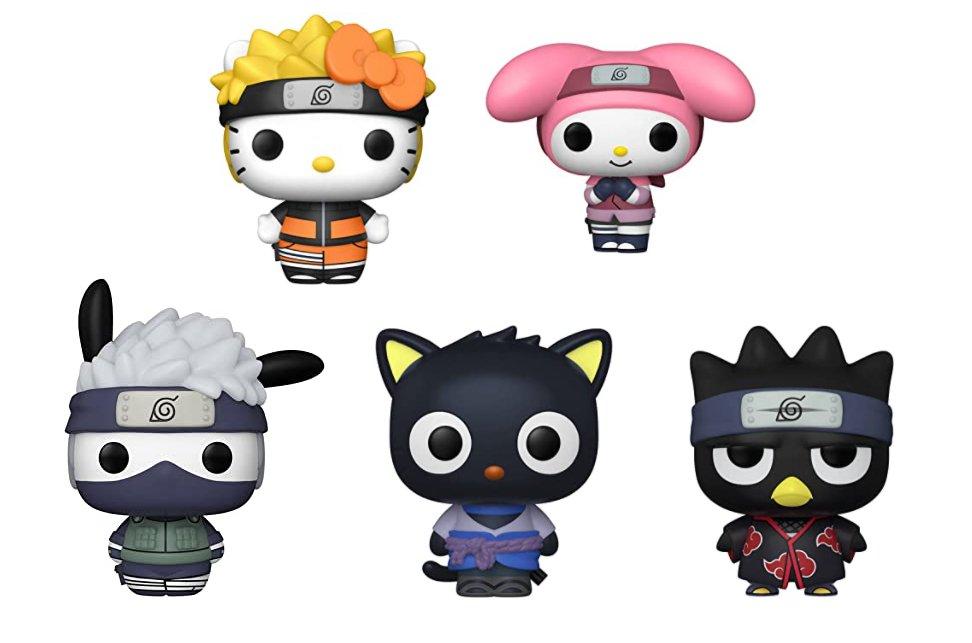 Sanrio x Naruto Funko Pop pre-orders on Amazon: