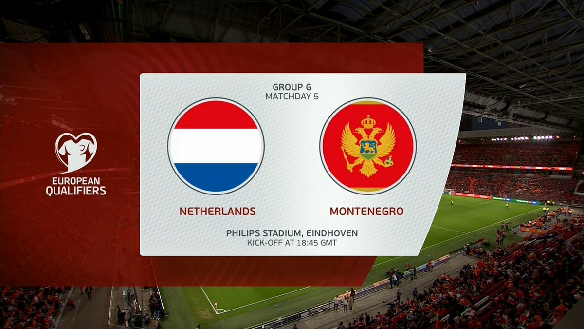 Full match: Netherlands vs Montenegro