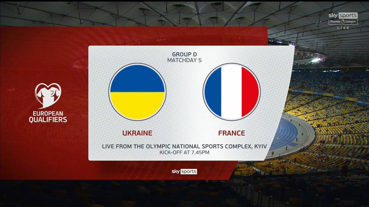 Full match: Ukraine vs France
