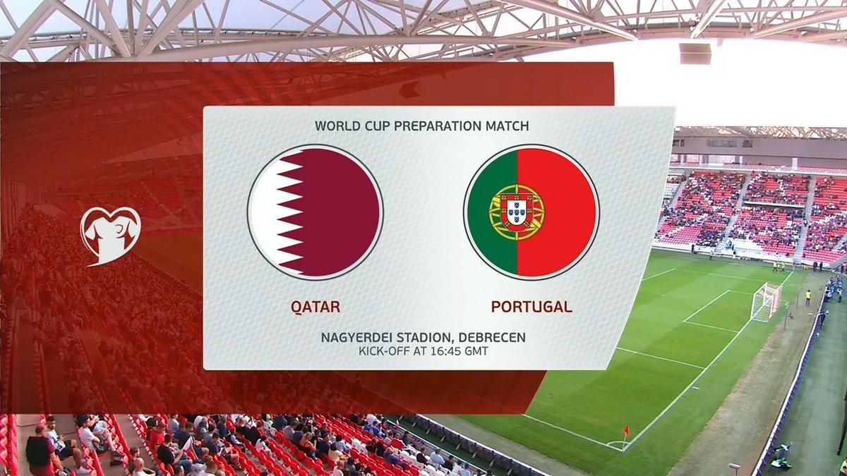Full match: Qatar vs Portugal