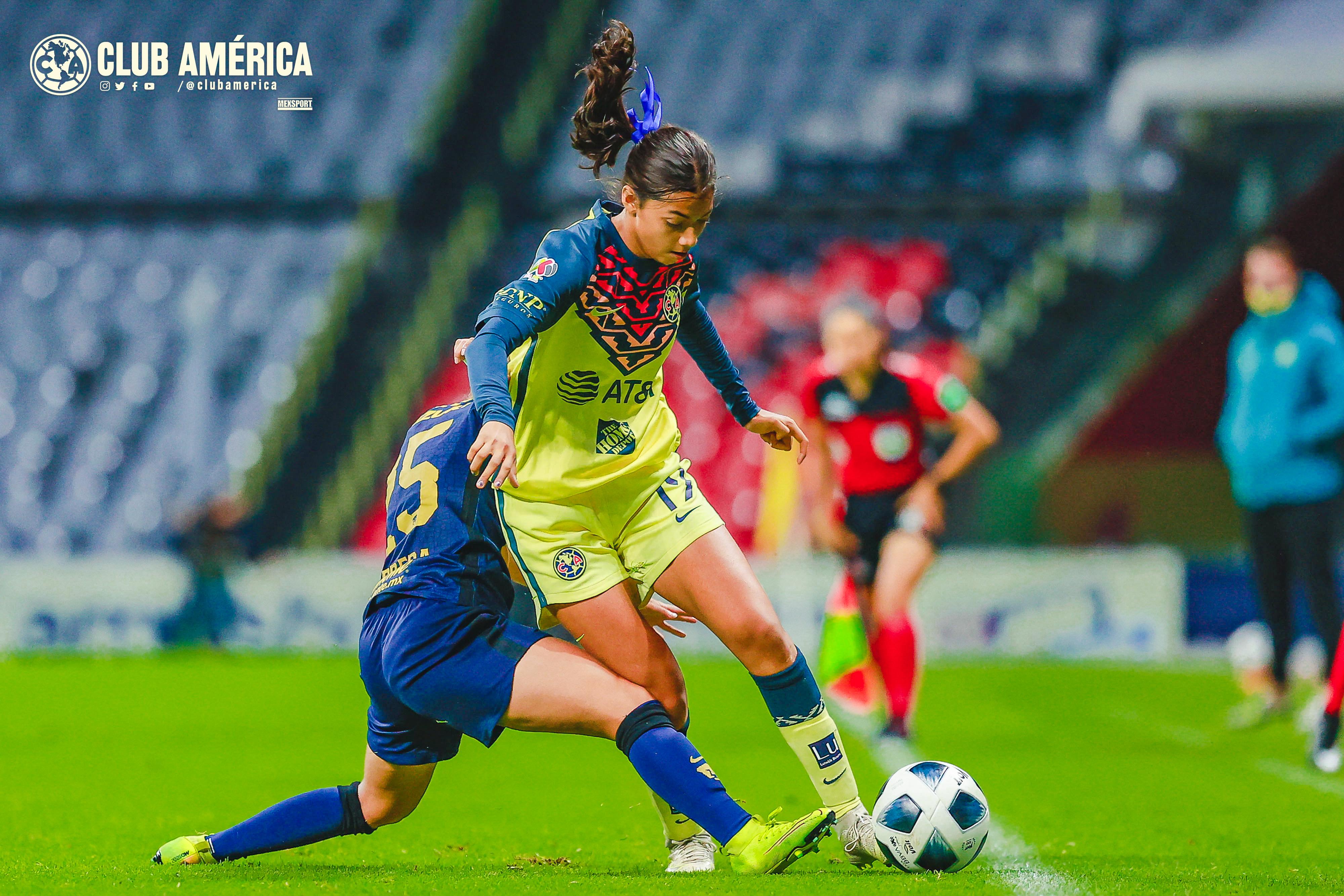 América vs Pumas 2-2 Liga MX Femenil Apertura 2021