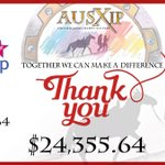 Image for the Tweet beginning: #AUSXIPCharityAuction: I'm STOKED to report