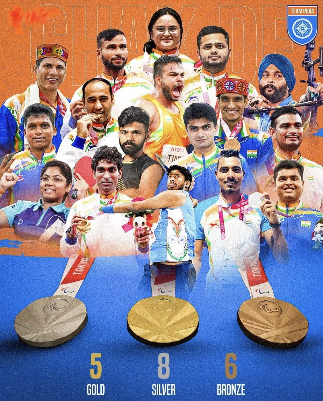भारतीय खेलों के इतिहास में टोक्यो पैरालंपिक का हमेशा विशेष स्थान रहेगा: प्रधानमंत्री मोदी
