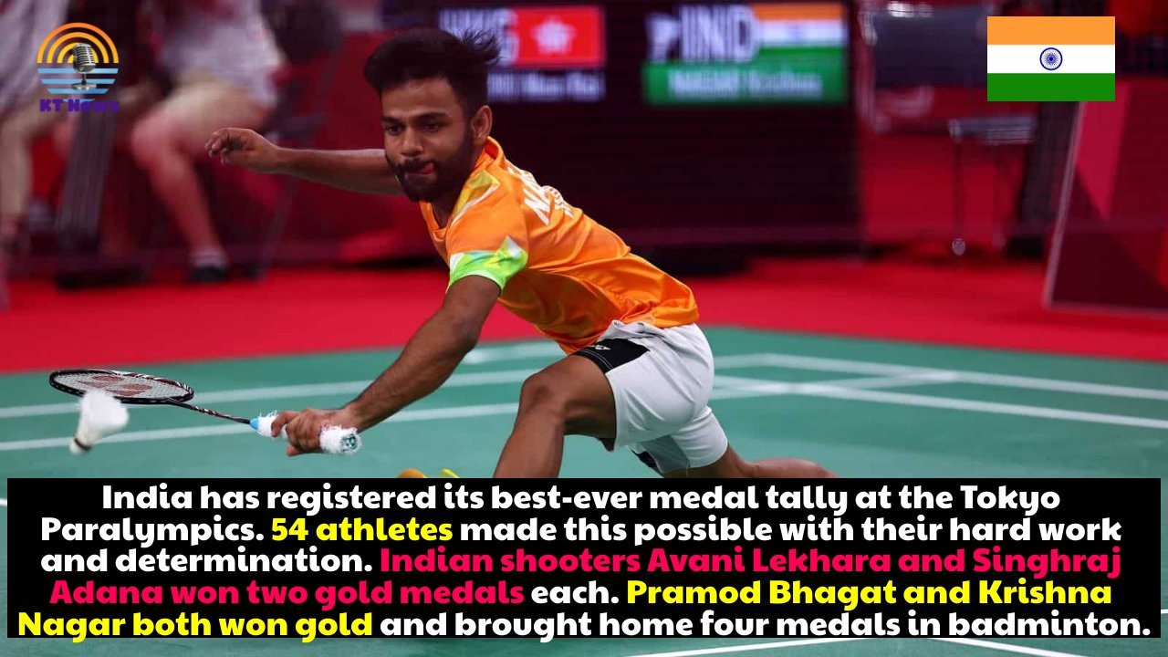 India records its best-ever finish at Tokyo Olympics with five gold, eight silver, and six bronze medals