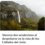 Image for the Tweet beginning: Dos senderistas --mujeres de 40