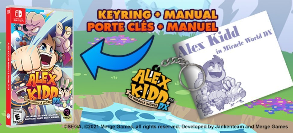 Alex Kidd In Miracle World DX (Switch) is $5 off on Amazon:   $29.97