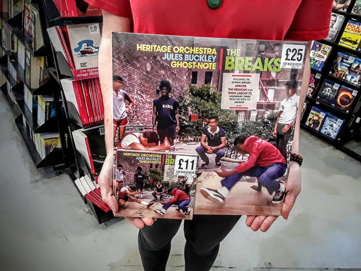 We are currently groovin to the funky sounds of @julesbuckley new album 'The Breaks'. #FoppCovent #GetToFopp #Fopp