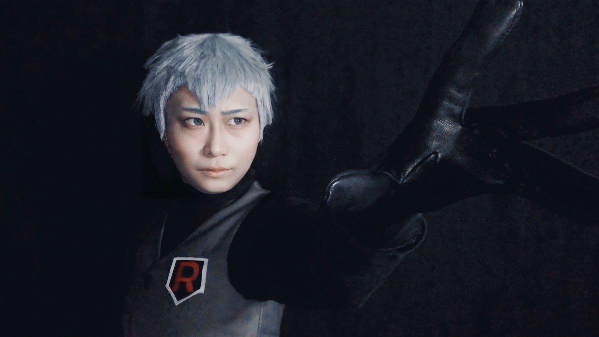 RT @Kyo_cosplay: 【コスプレ】 ポケモン Let's GO!ピカブイ(LPLE)  ロケット団幹部 アポロ https://t.co/A8tbKtnxoR