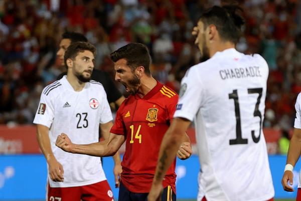España vs Georgia 4-0 Eliminatorias UEFA 2022