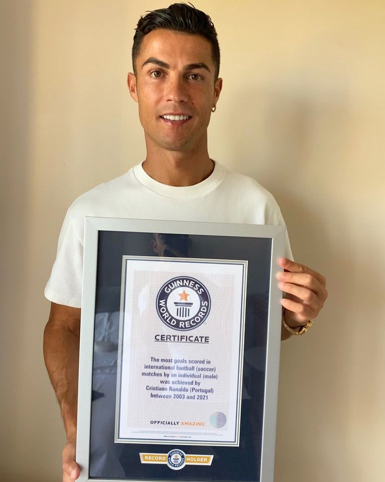 Thank you to the Guiness World Records. Always good to be recognized as a world record breaker. Let's keep trying to set the numbers even higher!💪🏽