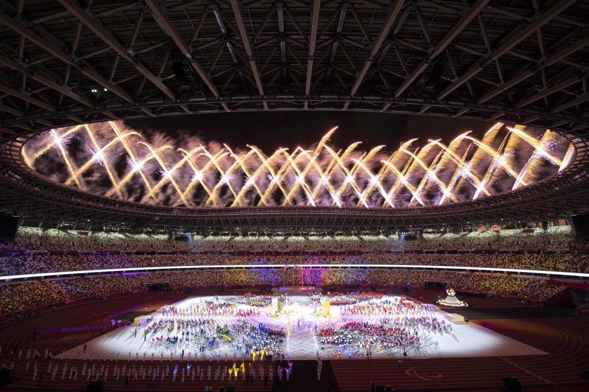 Tokyo you've been outstanding 🎉  The #Paralympics comes to a close bringing an end to a brilliant summer of sport for @ParalympicsGB & @TeamGB 😁  Well done to the EIS staff who did an excellent job out in Tokyo supporting both teams 👏  #Tokyo2020 #Paralympics