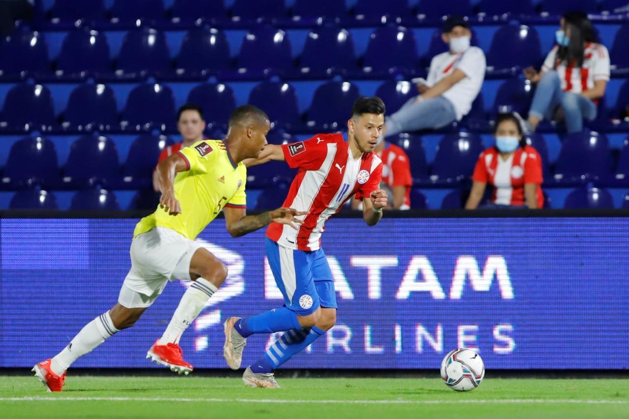 Paraguay vs Colombia 1-1 Jornada 6 Eliminatorias CONMEBOL 2022