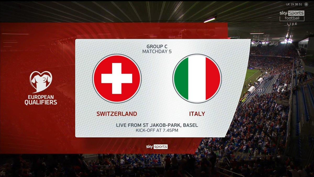 Full match: Switzerland vs Italy