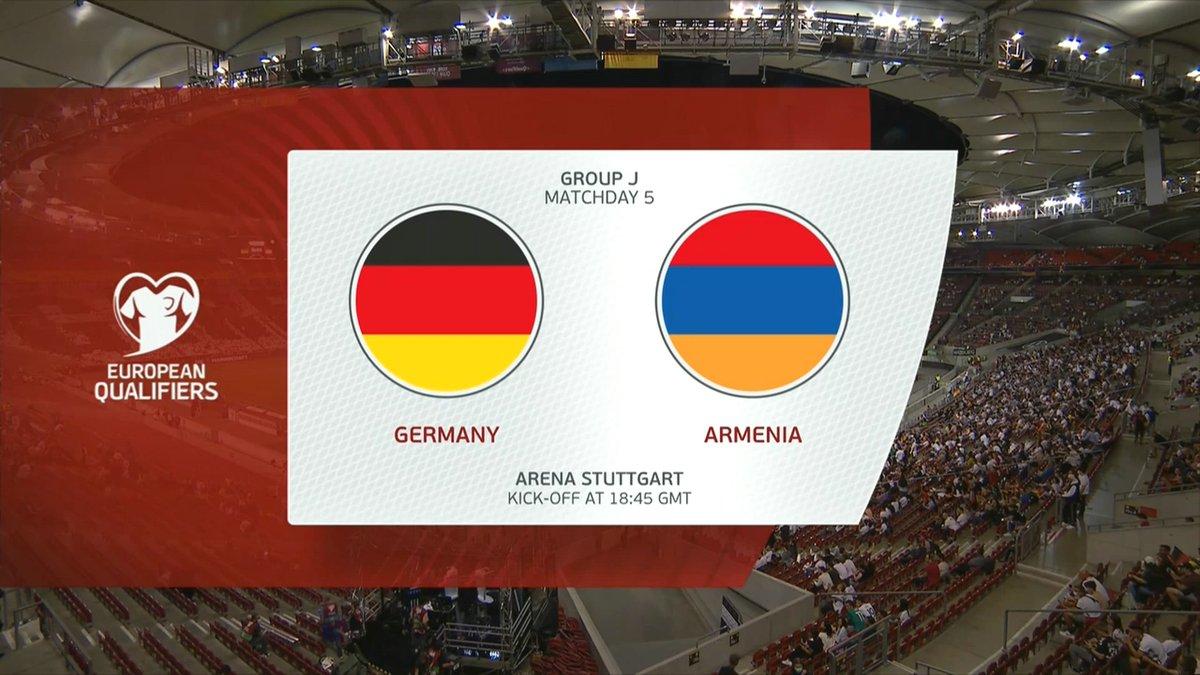Full match: Germany vs Armenia