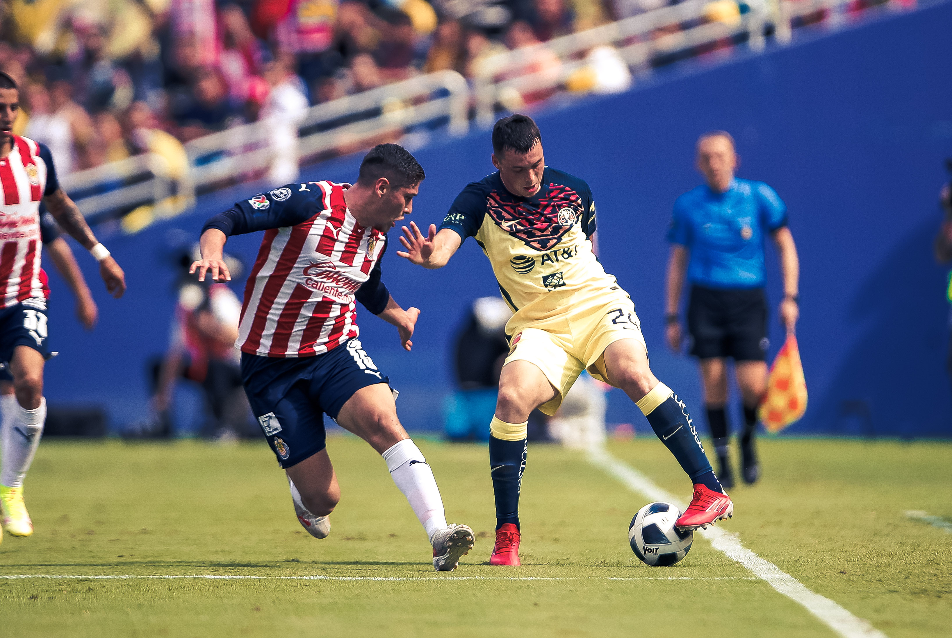 América vs Chivas 2-0 Amistoso Super Clásico USA 2021
