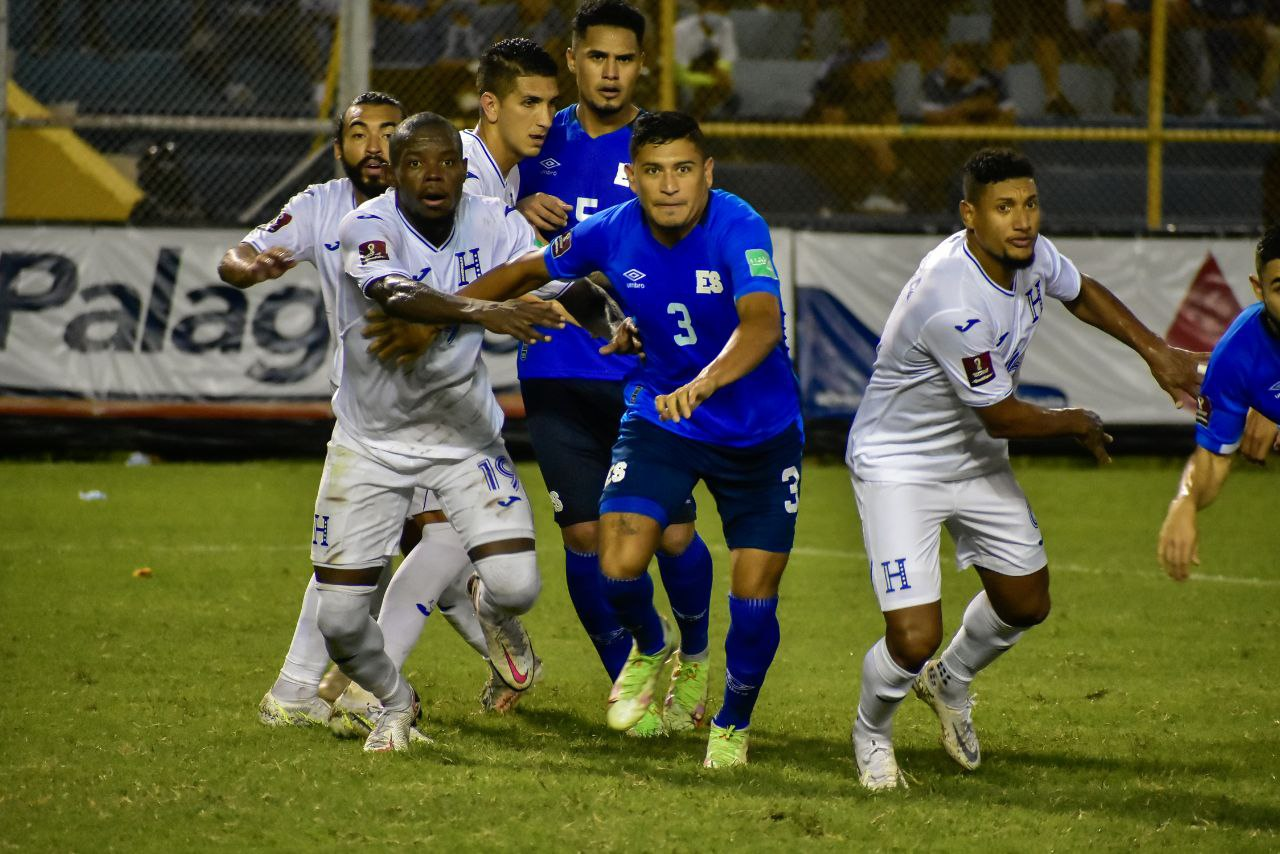 El Salvador vs Honduras 0-0 Octagonal Final CONCACAF 2022