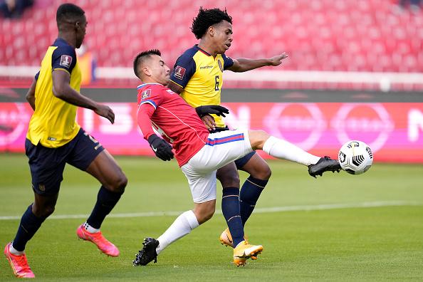 Ecuador vs Chile 0-0 Jornada 6 Eliminatorias CONMEBOL 2022