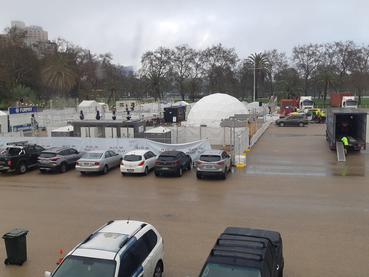 test Twitter Media - Dismantling of the Winter Village at Torrens Parade Ground will occur over several days this week. This will result in further restricted car parking, heavy vehicle traffic and access issues. Avoid visiting TPG if it is not vital. https://t.co/3lvgDB6DaB