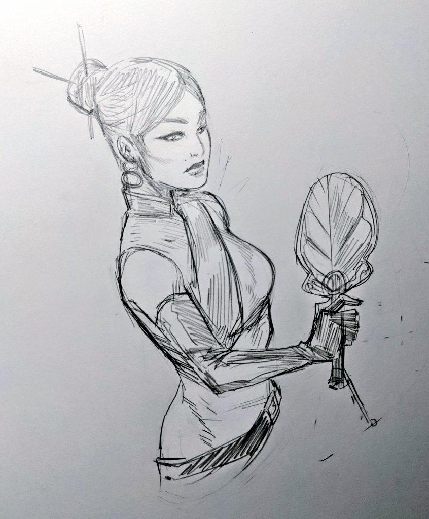 Lady Iron Fan wipppp