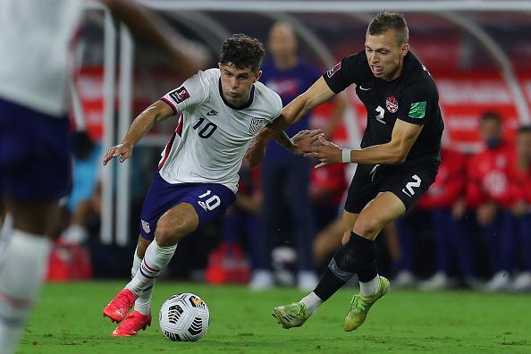 Estados Unidos vs Canadá 1-1 Octagonal Final CONCACAF 2022